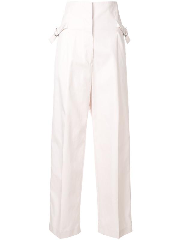 Jil Sander Adjustable Buckle Trousers