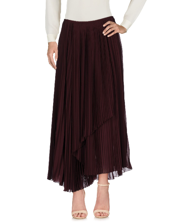 Kenzo Midi Skirts In Maroon