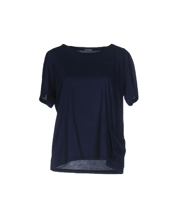 Blue Blue Japan T-shirts In Dark Blue