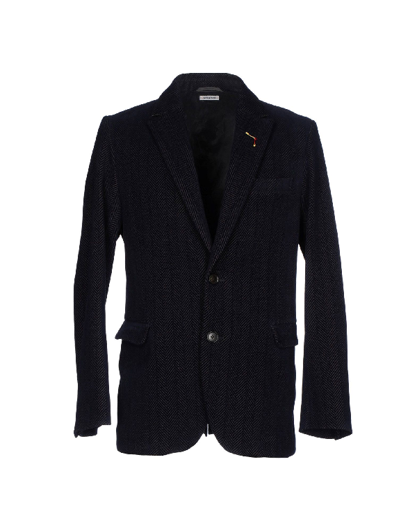 Blue Blue Japan Blazers In Dark Blue