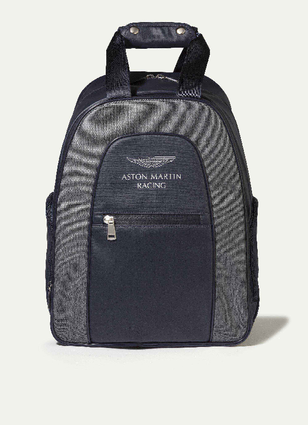 Hackett Two Colour Backpack In Navy