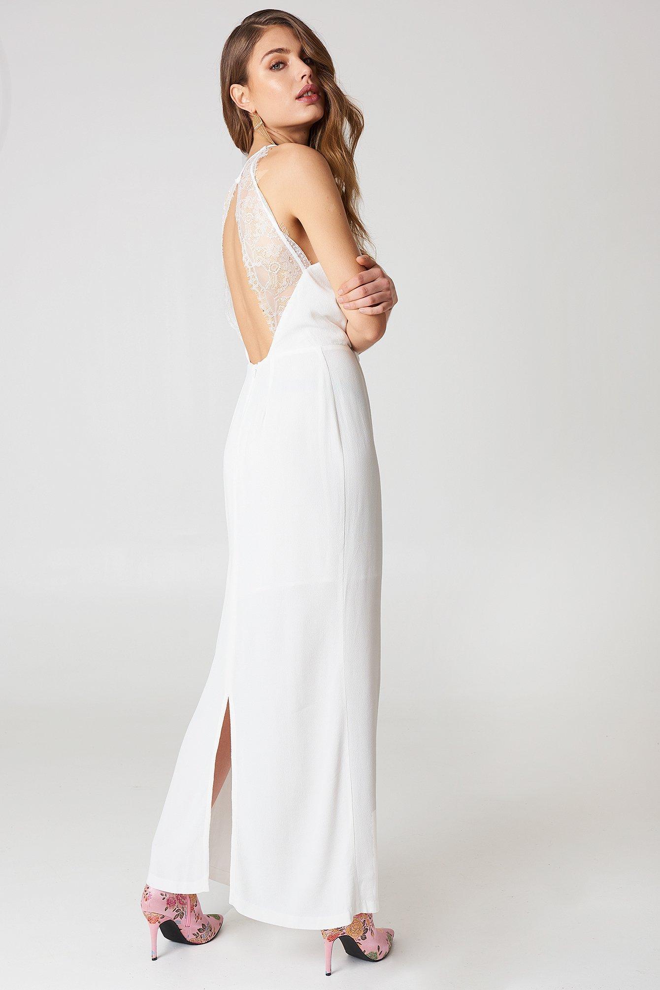 speical-erbjudande super populärt spara av Samsoe & Samsoe Willow Dress Long - White In Clear Cream   ModeSens