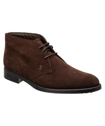 Tod's Suede Ankle Boot In Nocolor