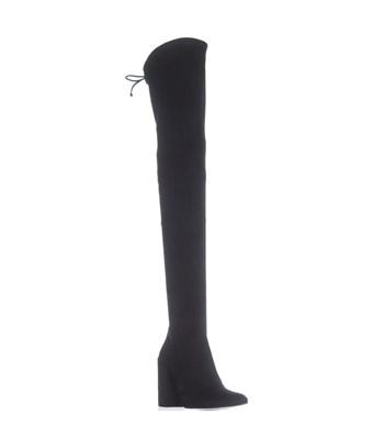 Stuart Weitzman Nualllegs Thigh High Boots, Noir In Black