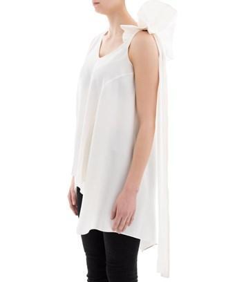 Valentino Women's  White Viscose Blouse