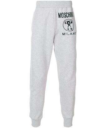 Moschino Men's  Grey Cotton Joggers