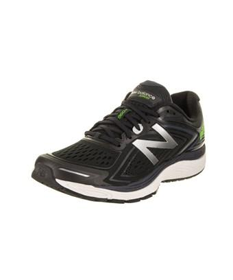 New Balance Men's 860V8 Running Shoe In Black/Thunder