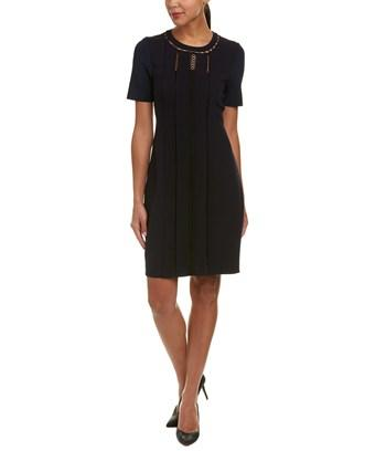 Elie Tahari Sheath Dress In Black