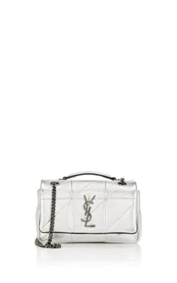 0f33509eff2 Saint Laurent Monogram Jamie Small Leather Chain Bag In Black | ModeSens