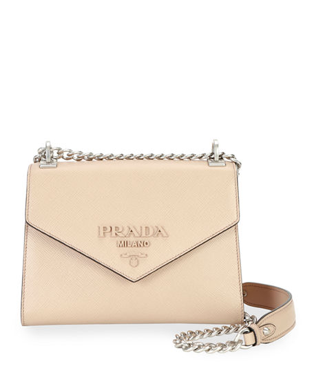 Prada Monochrome Crossbody Bag Medium Cipria In Light Pink