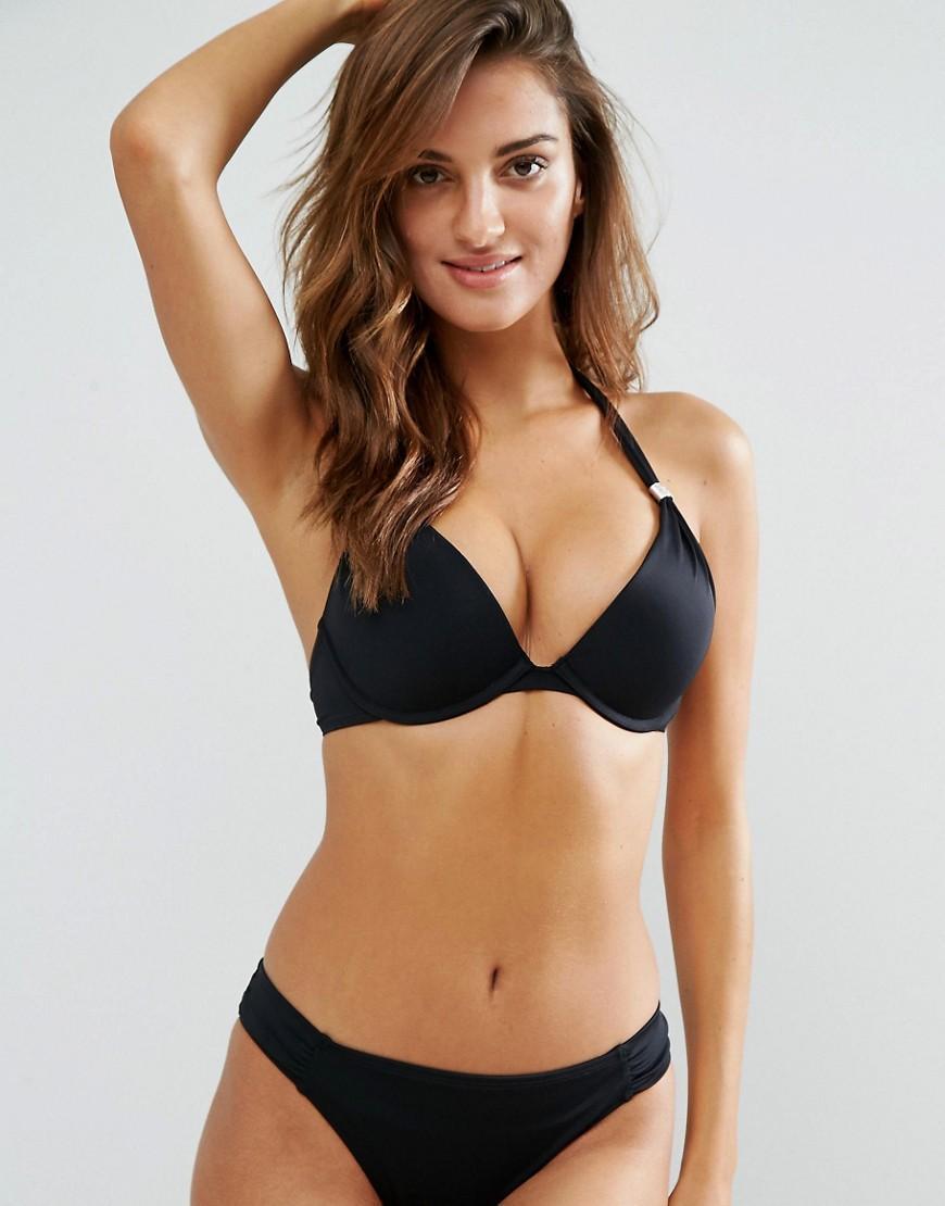 08e4b0a0400 Dorina Super Push Up Bikini Top In Black - Black | ModeSens
