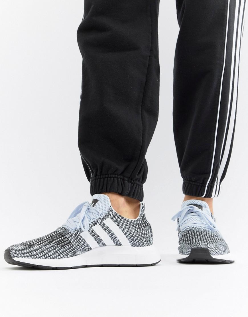 3975ba4da505e Adidas Originals Swift Run Sneakers In Gray Cq2122 - Blue