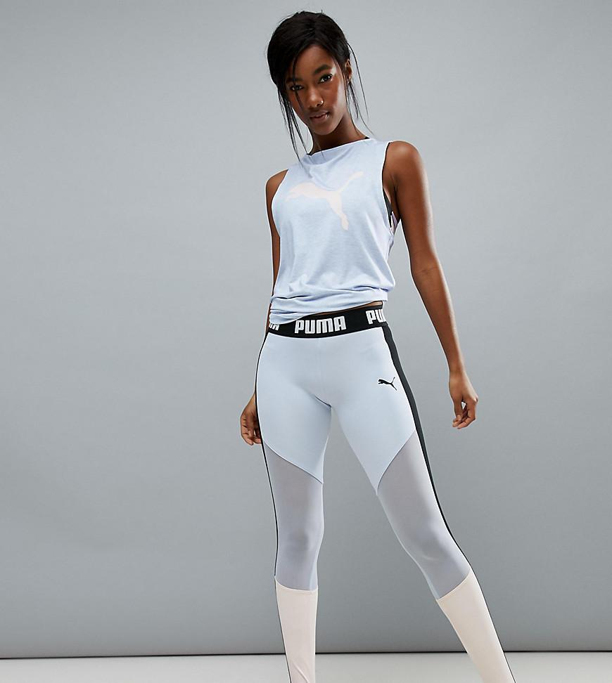 Puma Exclusive To Asos High Waisted Stirrup Leggings - Multi