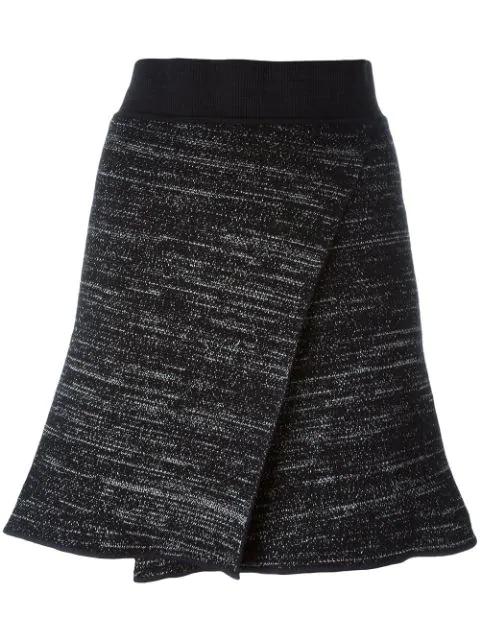 Isabel Marant Cross Front Knit Skirt