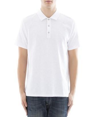 Rag & Bone Men's  White Cotton Polo Shirt