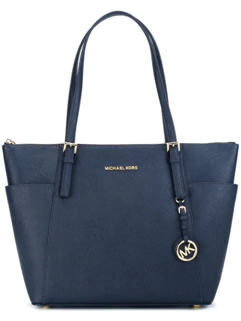 Michael Michael Kors 'Jet Set Travel' Top Zip Tote In 414 Admiral