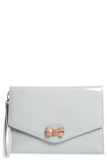 9d521617d Ted Baker Luanne Envelope Clutch - White