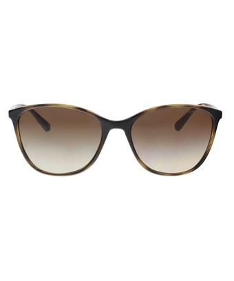0f005c5650 Emporio Armani Ea4073 502613 Havana Cat Eye Sunglasses In Brown ...
