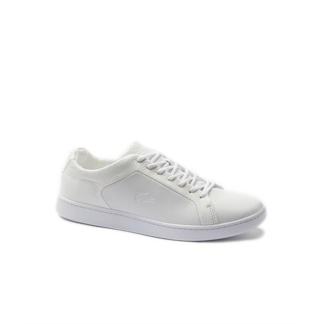 b7dc62133f Men's Carnaby Evo Leather And Suede Sneakers in White/White