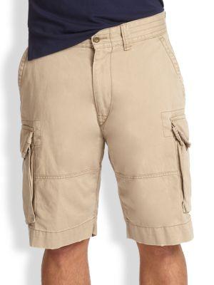 klassiska stilar första kurs Utgivningsdatum: Polo Ralph Lauren Gellar Classic Cargo Shorts In Hudson Tan | ModeSens