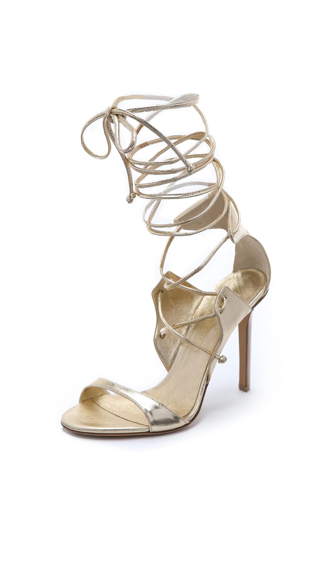 Tamara Mellon Gladiatrix Sandals In Platino