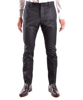 Dsquared2 Men's  Black Cotton Pants