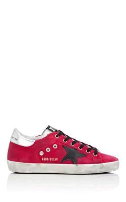 Golden Goose Superstar Velvet Sneakers - Pink