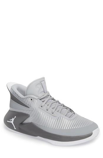 1061797ca8e1 Nike Jordan Fly Lockdown Sneaker In Wolf Grey  White  Dark Grey ...