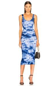 7a255a969499 Enza Costa Rib Tank Midi Dress In Blue,Ombre & Tie Dye | ModeSens