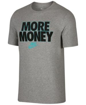 Nike Men's Sportswear Graphic T-Shirt In Grey