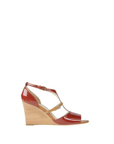 Tod's Sandals In Brick Red