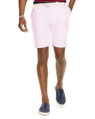 Polo Ralph Lauren Cotton Oxford Classic Fit Shorts In New Rose