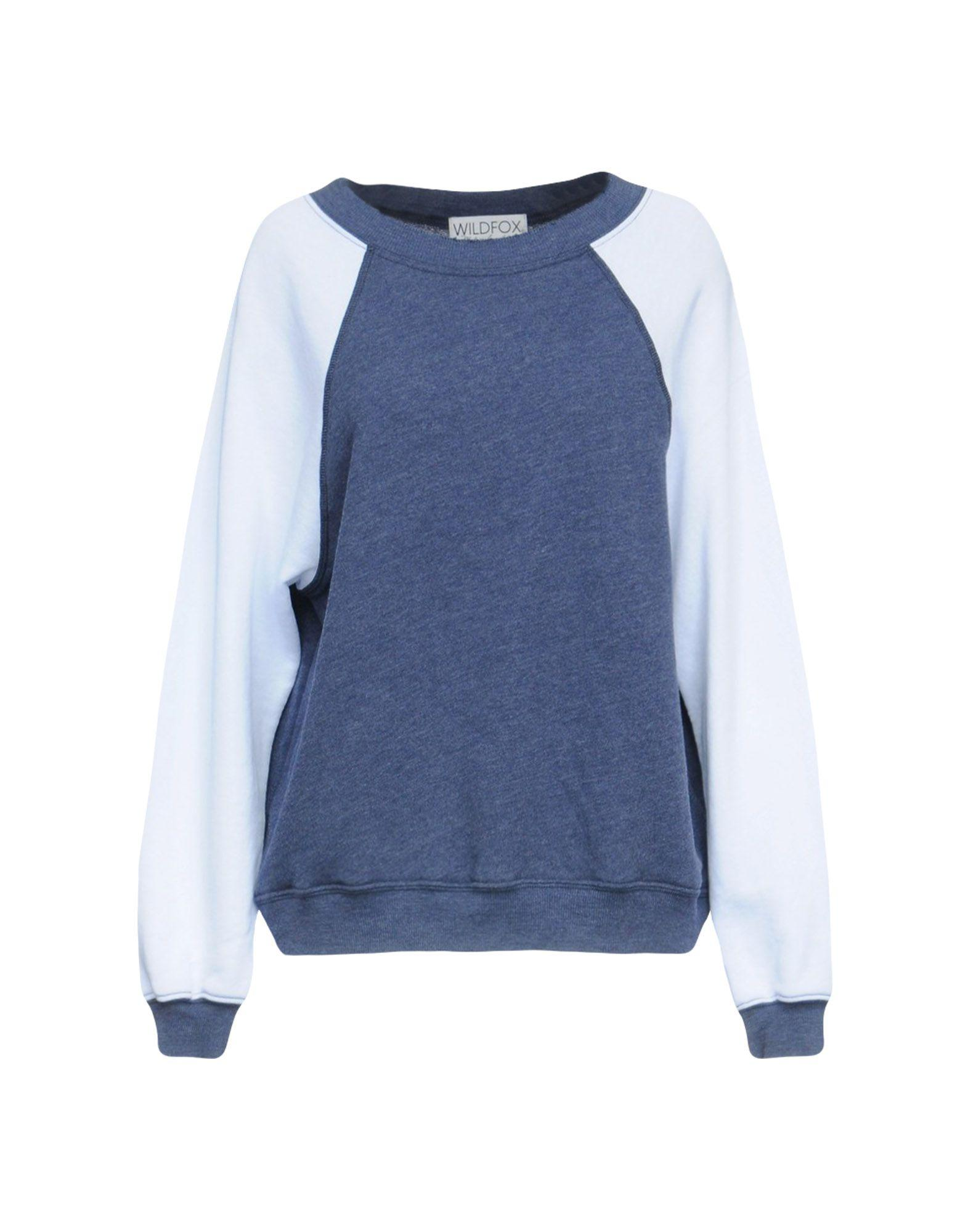 Wildfox Sweatshirts In Slate Blue