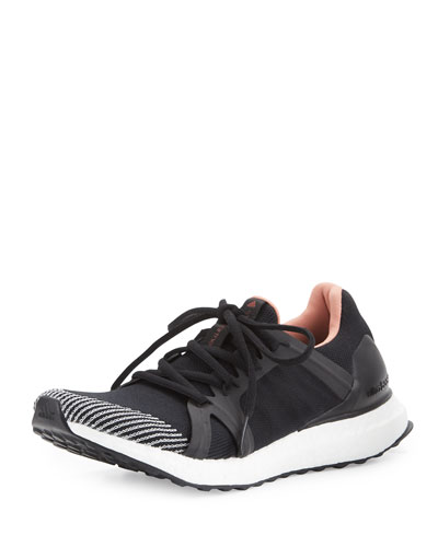 f1cc055bcbb6d Adidas By Stella Mccartney Ultra Boost Lace Up Sneakers In Silver Blue Plast