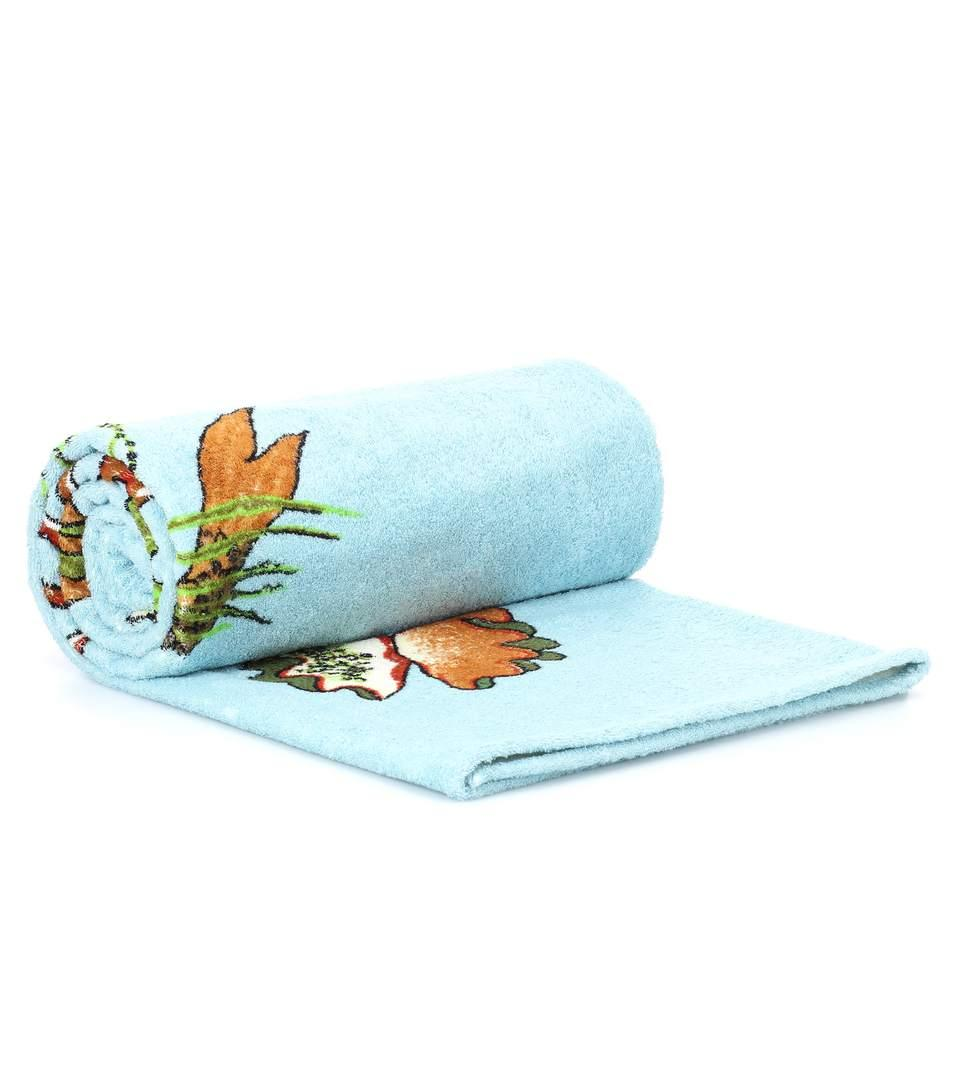Loewe X Paula's Ibiza Mermaid Towel In Multicoloured