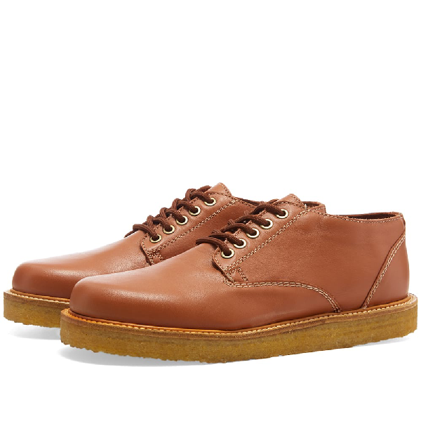 Wild Bunch Classic 5 Eyelet Shoe In Brown