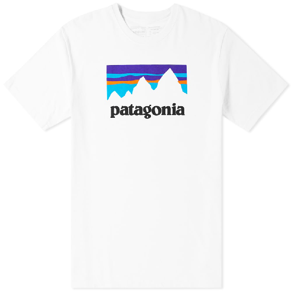 Patagonia Shop Sticker Responsibili-Tee T-Shirt In White