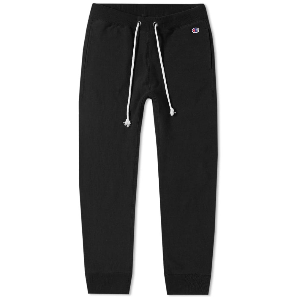 Champion Reverse Weave Women's Cuffed Track Pant In Black