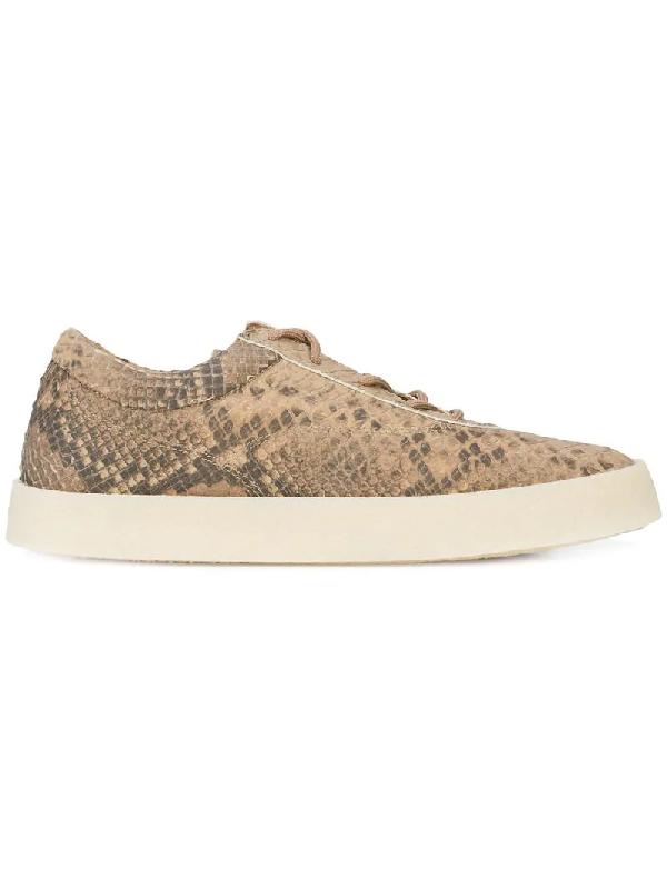 e7a331bdaaee1 Yeezy Season 6 Crepe Sneakers - Brown