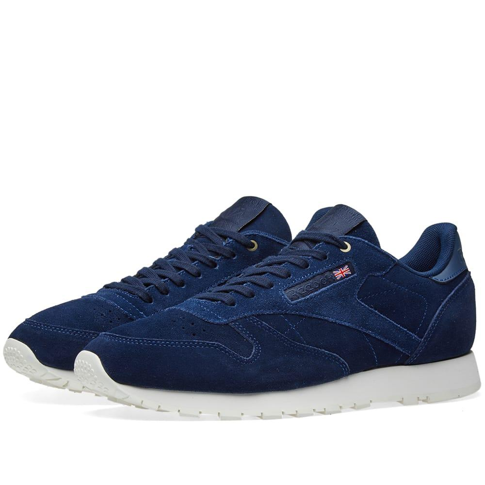 29e4486868d06 Reebok X Montana Cans Classic Leather In Blue