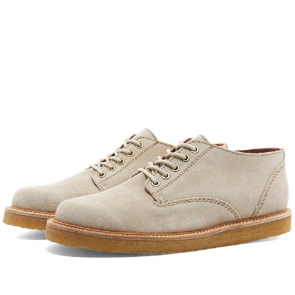Wild Bunch Classic 5 Eyelet Shoe In Neutrals