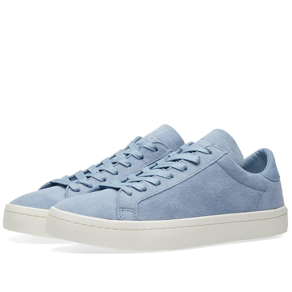 a4e4cc4314bb Adidas Originals Adidas Court Vantage In Blue