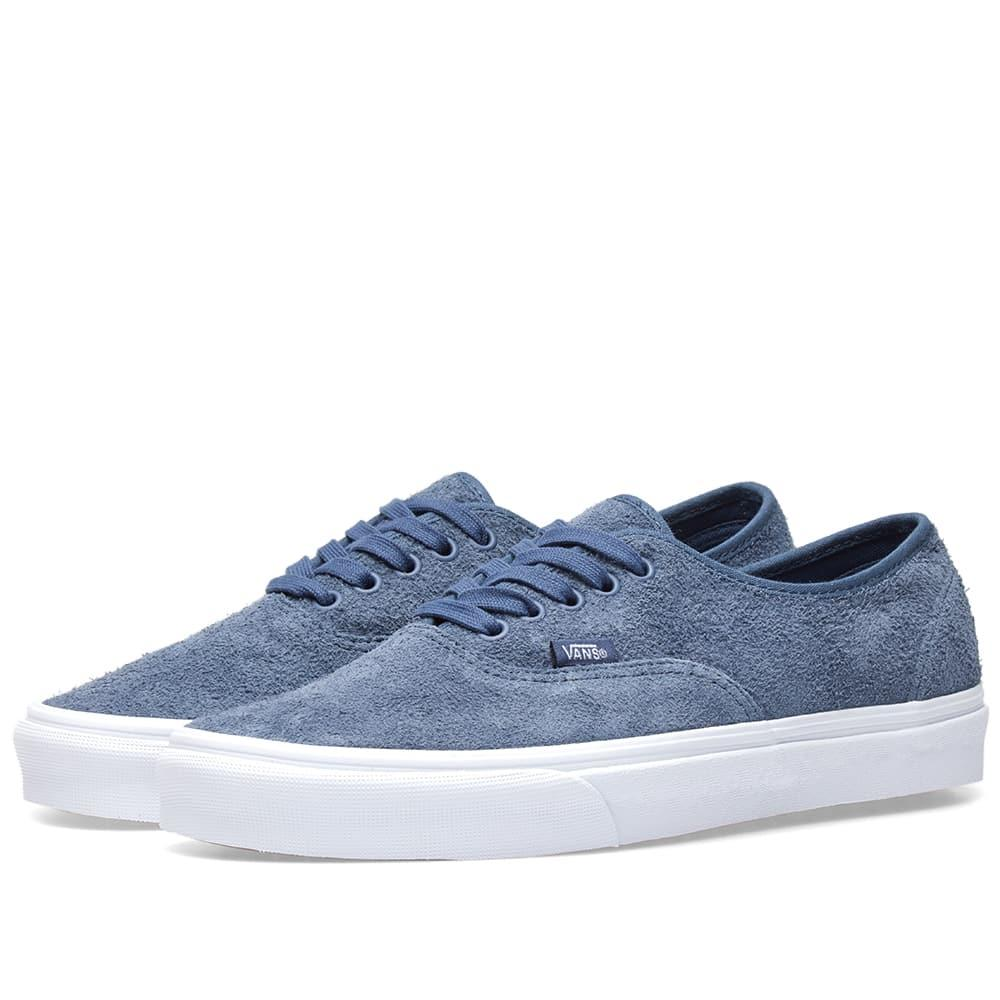 34e6b11ee9 Vans Ua Authentic Hairy Suede In Blue