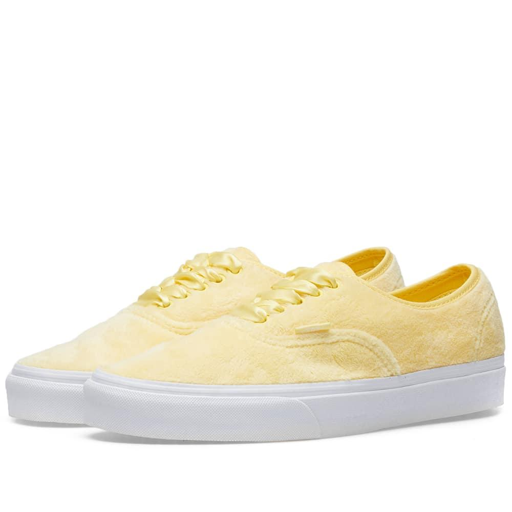 7ea60681337 Vans Women s Ua Authentic Furry In Yellow