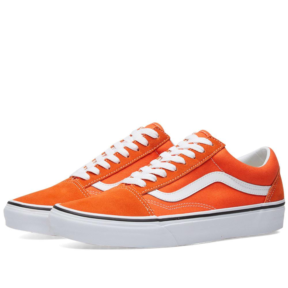 376e81302d97c Vans Old Skool In Orange