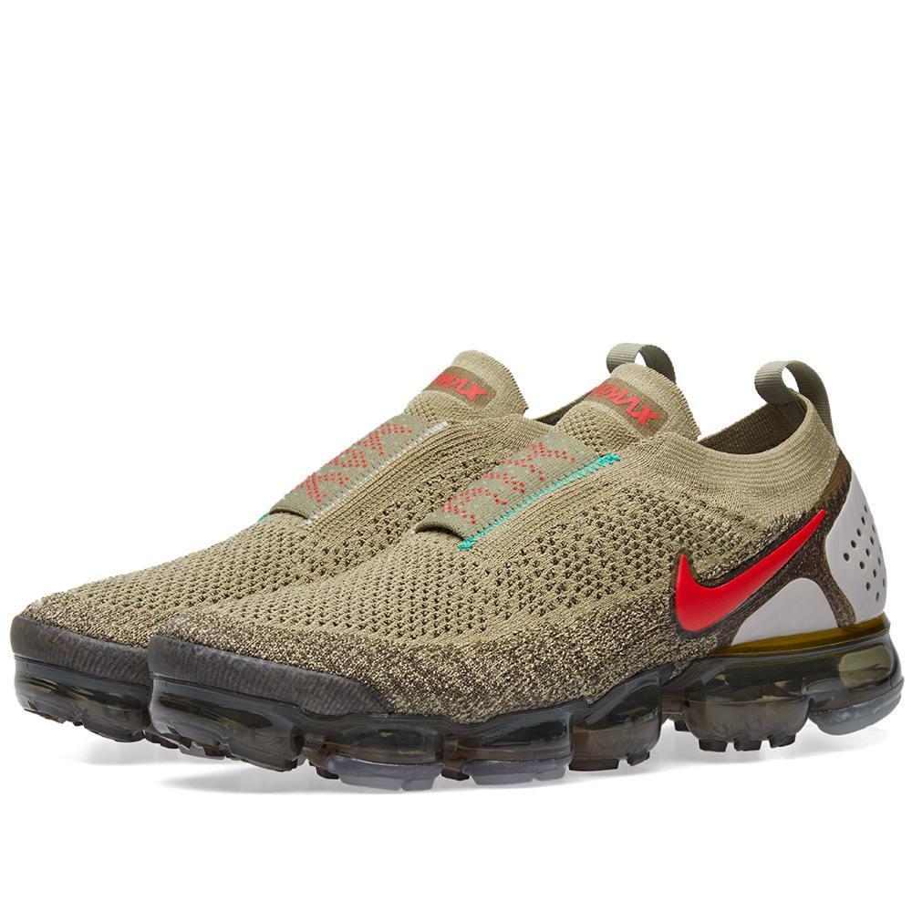 6eb1e973ea Nike Air Vapormax Flyknit Moc 2 Sneakers In Green | ModeSens