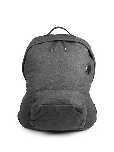 Polo Ralph Lauren Rlx Puffer Backpack In Charcoal