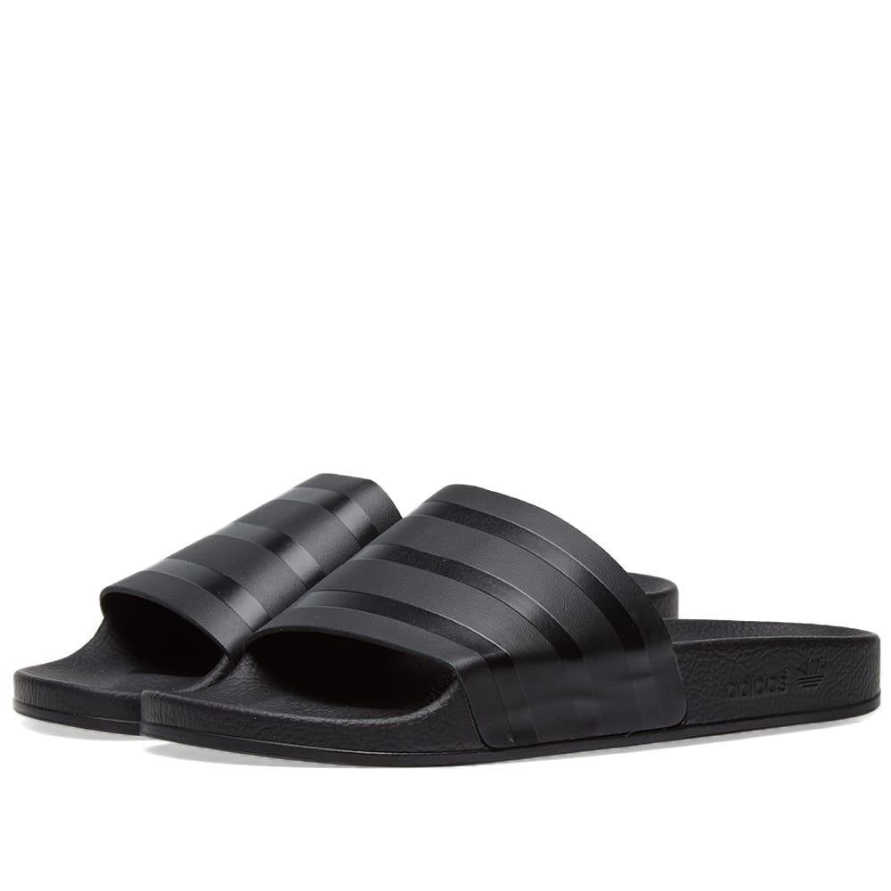 1d789cc59fb4 Adidas Originals Adidas Adilette Premium In Black