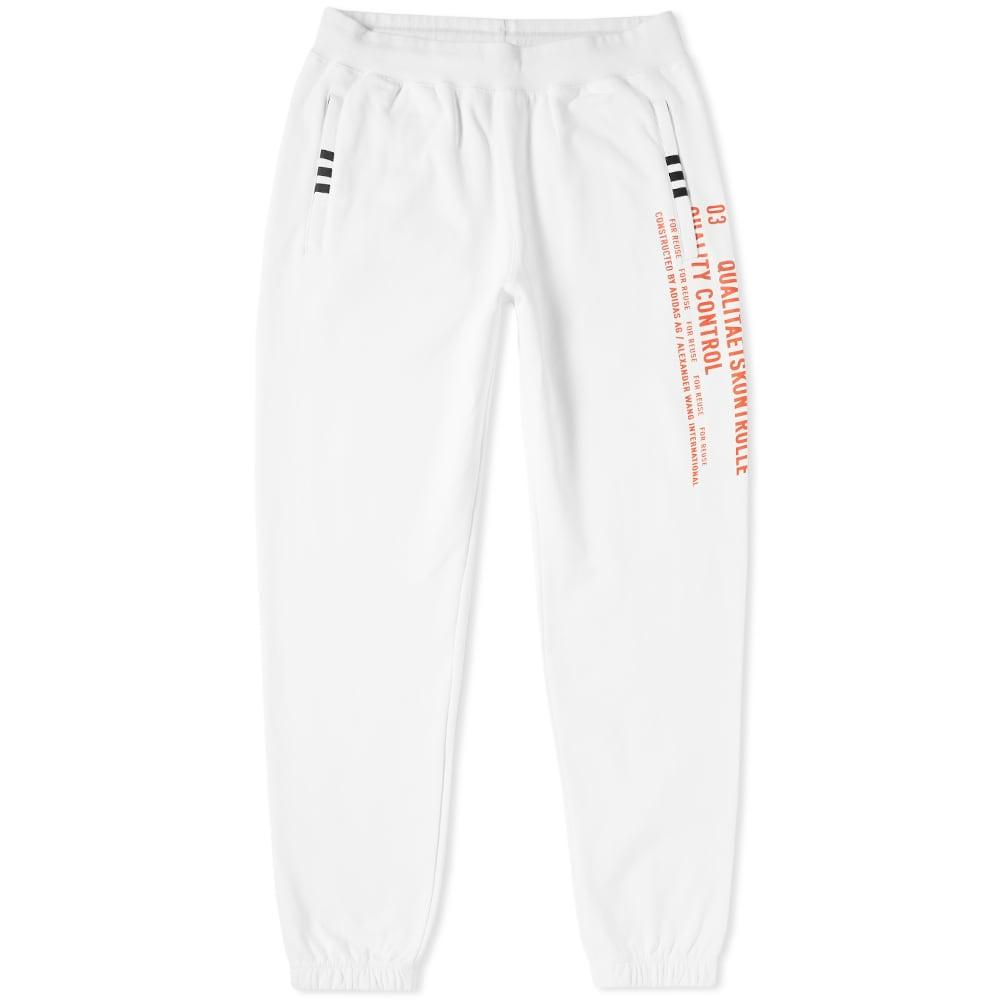 Adidas Originals By Alexander Wang Graphic Jogger In White