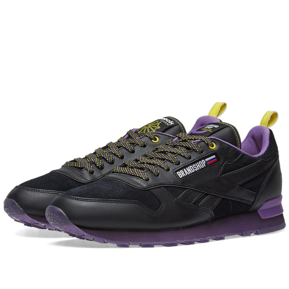 super popular 78d6f ab8bf Reebok X Brandshop Classic Leather In Black